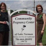 North Carolina Commandery donates to The Community Pregnancy Center