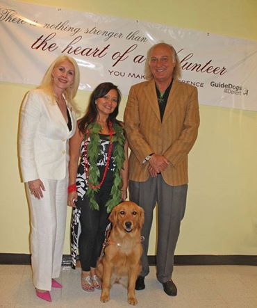 HOSLJ donates to The Guide Dogs