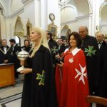 Holy Communion at the Investiture Service in Malta